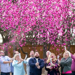 Gender Reveal Confetti Cannons | Melbourne | Kaboom Confetti