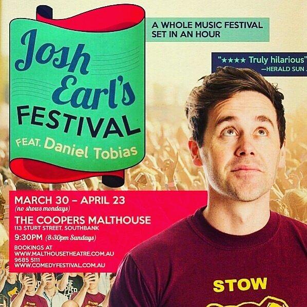 Josh Earl's Festival | International Comedy Festical | Melbourne | Kaboom Confetti