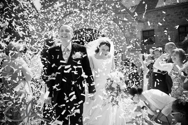 Wedding Confetti Cannons | Australia | Kaboom Confetti | Pro-series Remote Controlled Two Barrel Confetti Cannon Launcher
