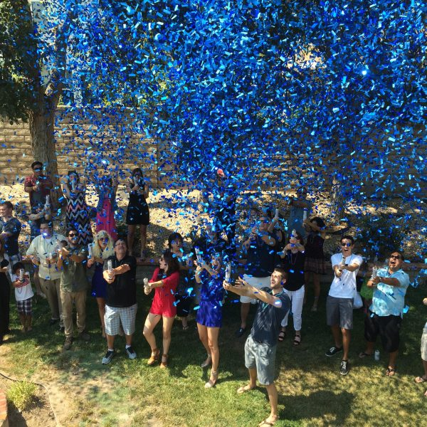 Gender Reveal Cannons | Gender Reveal Party | Baby Boy | Gender Reveal Confetti Popper