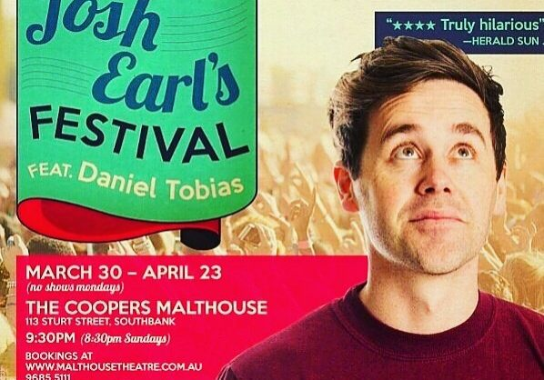 Josh Earl's Festival | International Comedy Festical | Melbourne | Kaboom Confetti
