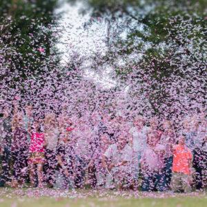 Gender Reveal Confetti Cannons   Melbourne   Kaboom Confetti