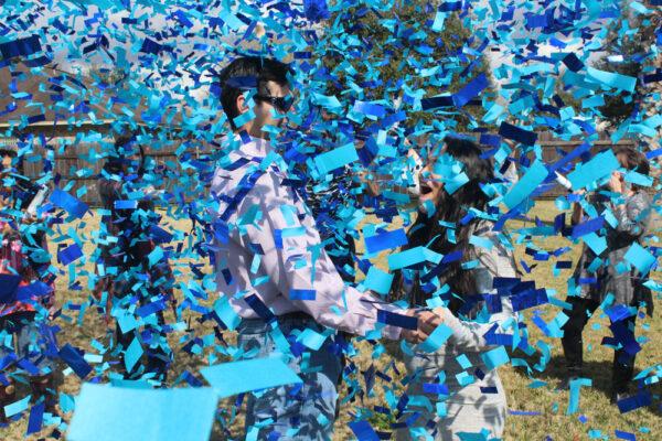 Gender Reveal Confetti Cannons | Melbourne | Kaboom Confetti | Pro-series Remote Controlled Single Barrel Confetti Cannon Launcher