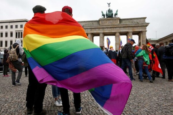 Celebrate With Confetti | Germany Votes To Legalise Same Sex Marriage