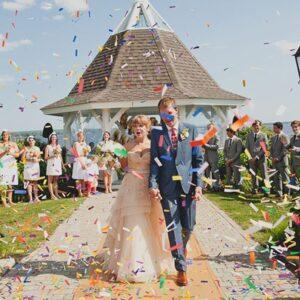 Ceremony Time   Wedding Confetti
