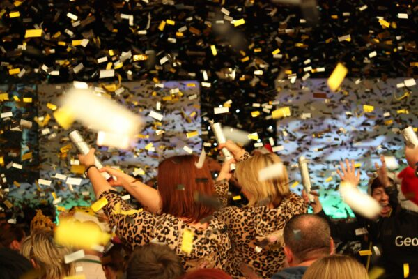 New Years Eve Party Confetti Cannons