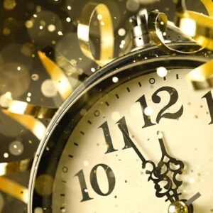 New Year Clock | New years Eve Confetti Cannons
