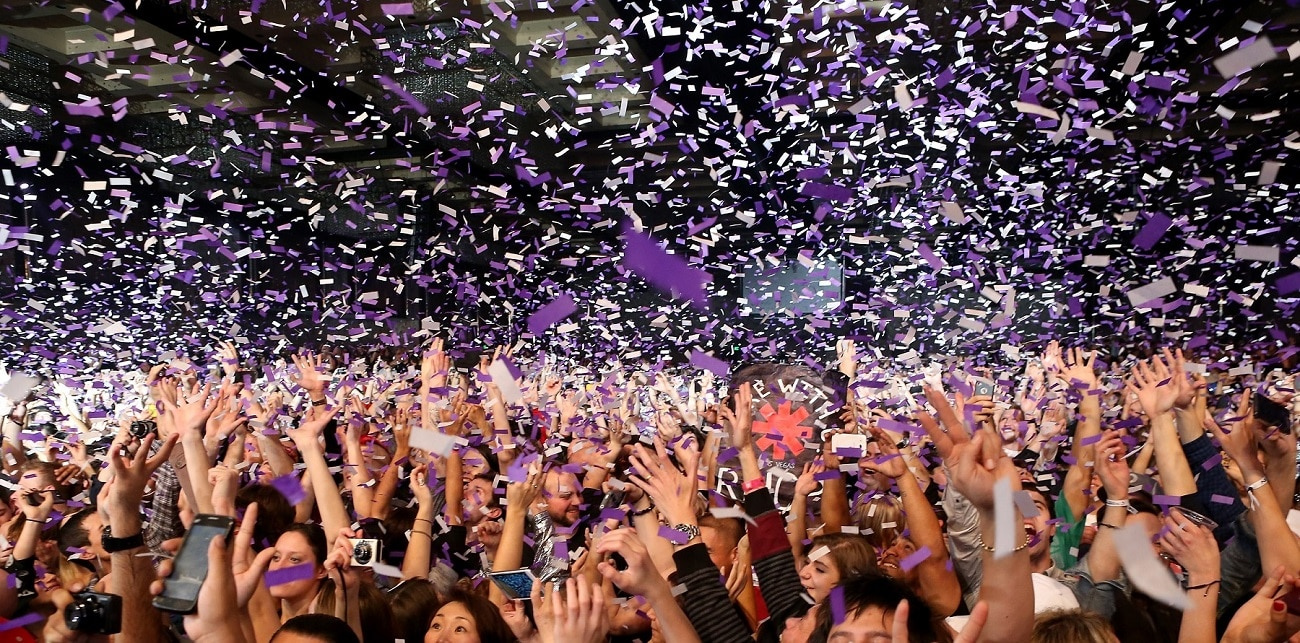 New Year's Eve Confetti | Party | Nightclub New Years Eve | Pro-series Remote Controlled Two Barrel Confetti Cannon Launcher