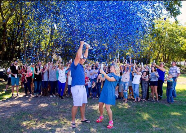 Gender Reveal Confetti Cannon | Gender Reveal Party Popper | Confetti Cannon | Gender Reveal Melbourne | Gender Reveal Sydney | Gender Reveal Brisbane | Gender Reveal Perth