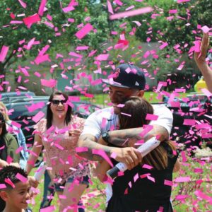 Girl-or-Boy-Gender-Reveal-Party   Gender Reveal Parties   Gender Reveal   Triple M Radio   Party Popper