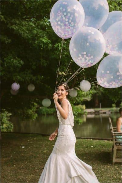 Wedding Confetti   Wedding Confetti Balloons