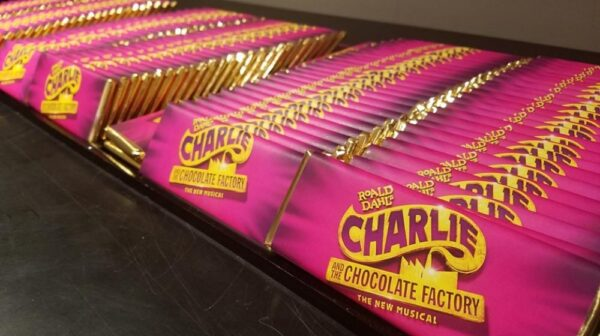 Charlie and the choclate factory bars