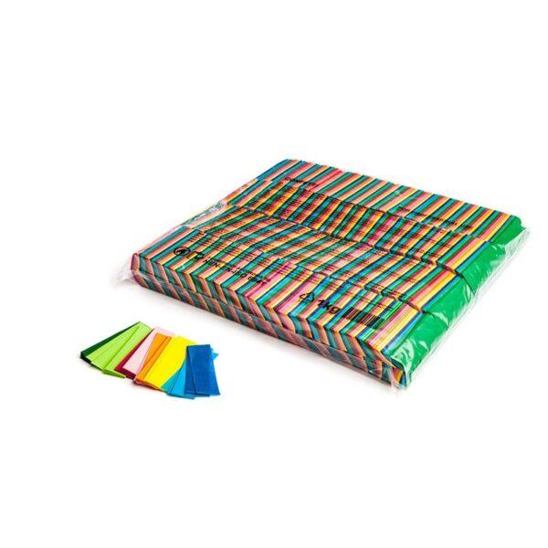 Paper Confetti Rectangles | Biodegradable Paper Confetti | Loose Bulk Confetti | Multicoloured Confetti