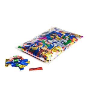 Metallic Confetti Rectangles   Mixed Colour Confetti   Loose Bulk Confetti   Mixed Colour Metallic Confetti