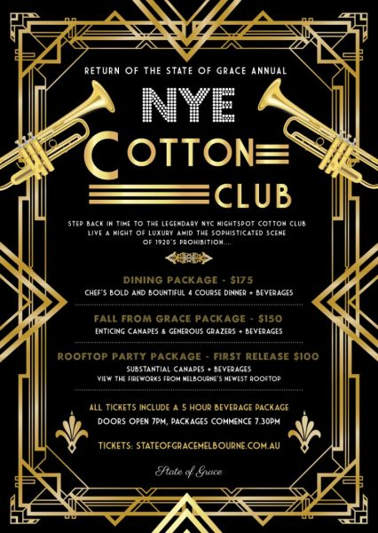 NYE Cotten Club