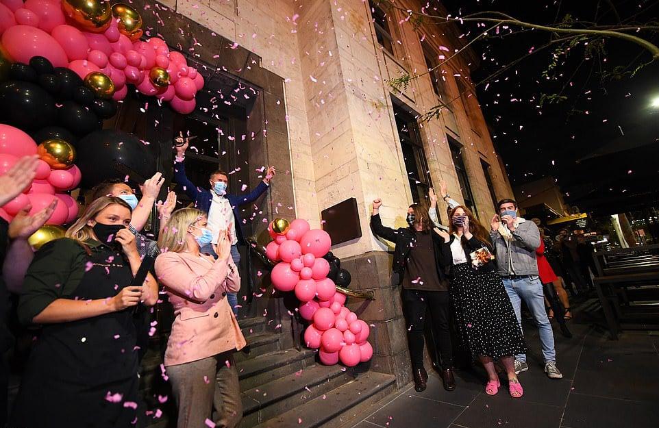 Confetti Melbourne Covid lockdown