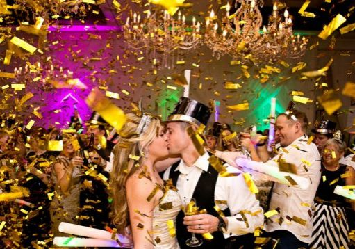 New years Eve Confetti Cannons